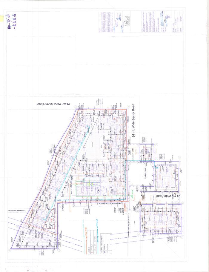 Raheja Krishna New Site Plan