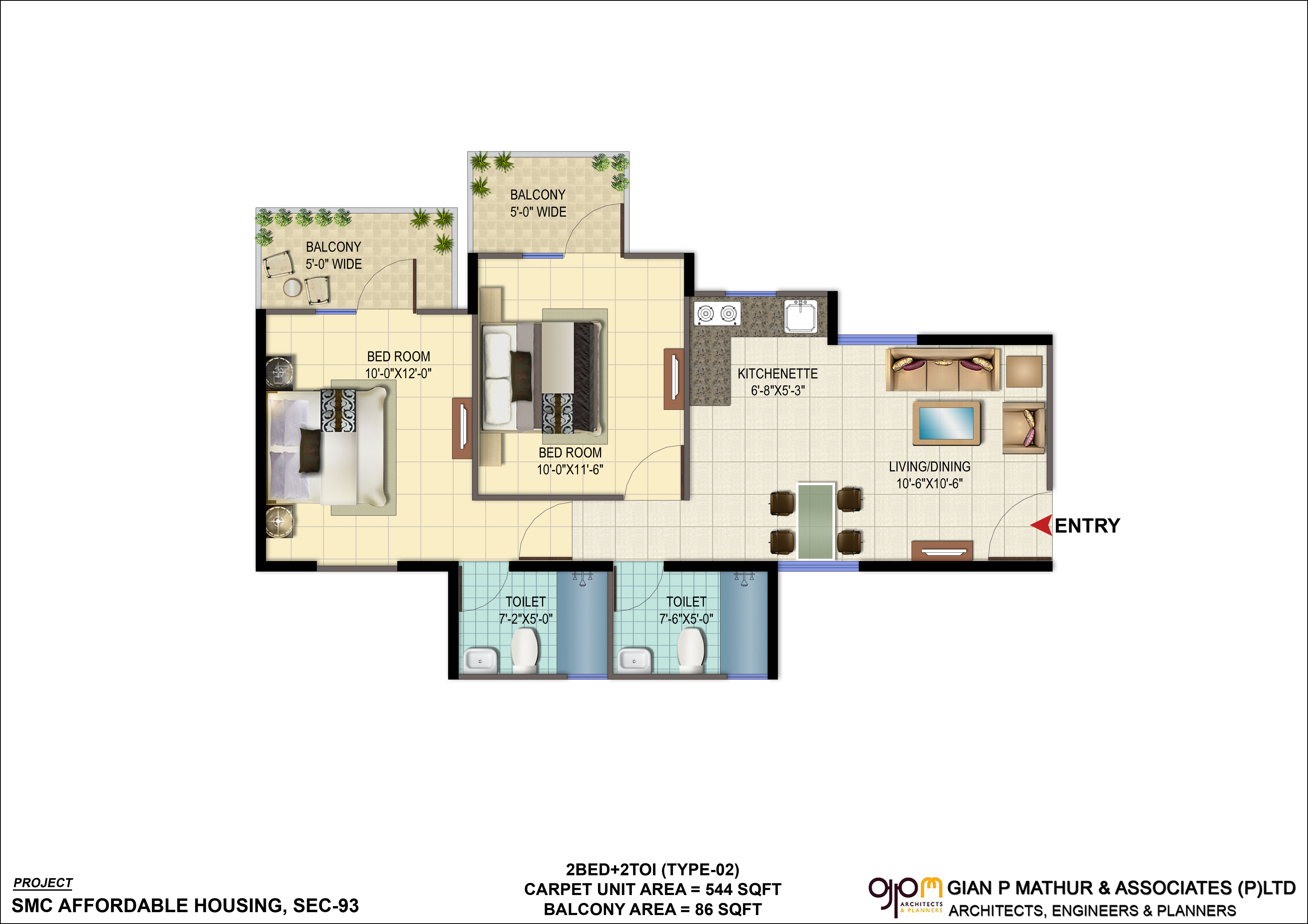 New affordable signature global orchard avenue sec 93 for Signature house plans